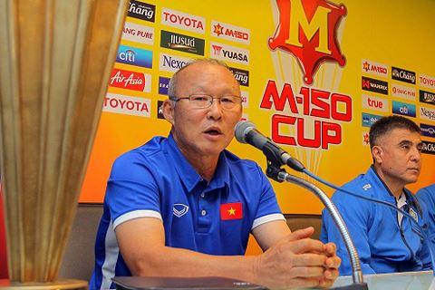 HLV Park Hang Seo noi gi sau tran U23 Viet Nam 2-1 U23 Thai Lan?
