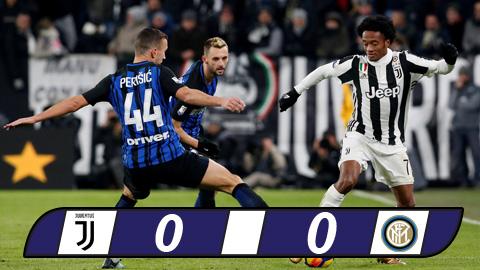 Juventus 0-0 Inter Milan Chan ky luc, giu ngoi dau hinh anh