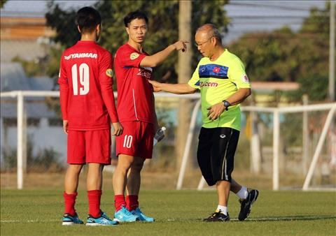 HLV Park Hang Seo thay doi chien thuat cho U23 Viet Nam hinh anh