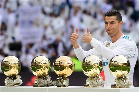 Ronaldo va 5 Qua bong vang