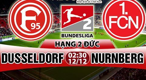 Nhan dinh Dusseldorf vs Nurnberg 02h30 ngày 1212 (Hang 2 Duc 201718) hinh anh