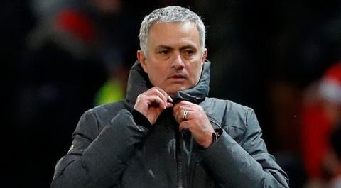 Jose Mourinho thua nhan Man Utd kho long dua vo dich sau khi thua Man City.