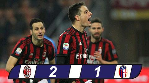 AC Milan 2-1 Bologna Chien thang dau tay cua HLV Gattuso hinh anh