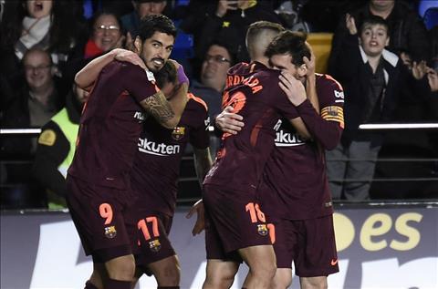 Barca thang Villarreal 2-0