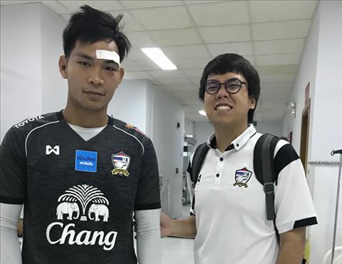 U21 Thai Lan thiet quan truoc tran mo man gap U21 Viet Nam hinh anh