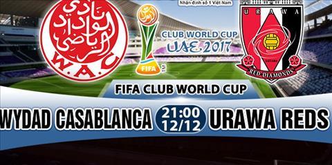 Nhạn dịnh Wydad vs Urawa Reds 21h00 ngày 1212 (FIFA Club World Cup 2017) hinh anh