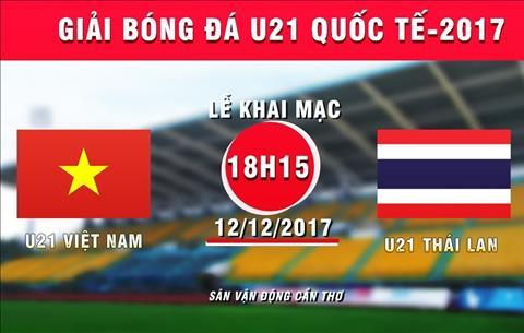 LINK XEM TRỰC TIẾP U21 Việt Nam vs U21 Thái Lan 18h30 tối nay 12/12