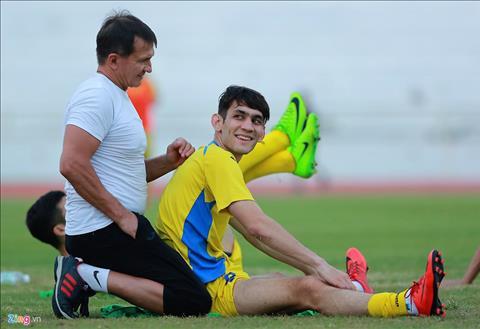 U23 Uzbekistan gap bat loi lon truoc man so tai U23 Viet Nam  hinh anh