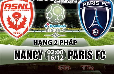 Nhan dinh Nancy vs Paris 02h00 ngay 1612 (Hang 2 Phap 201718) hinh anh