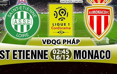 Nhan dinh StEtienne vs Monaco 02h45 ngay 1612 (Ligue 1 201718) hinh anh