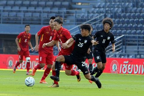 Cong Phuong vs U23 Thai Lan