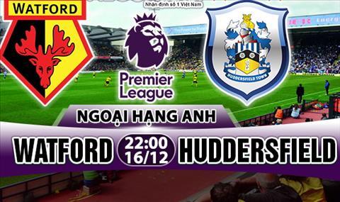Nhan dinh Watford vs Huddersfield 22h00 ngày 1612 (Premier League 201718) hinh anh