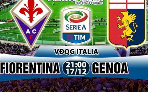 Nhan dinh Fiorentina vs Genoa 21h00 ngay 1712 (Serie A 201718) hinh anh