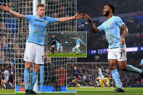 Man City 4-1 Tottenham
