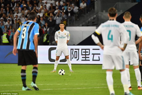Cristiano Ronaldo ghi ban duy nhat giup Real Madrid vo dich Club World Cup 2017.