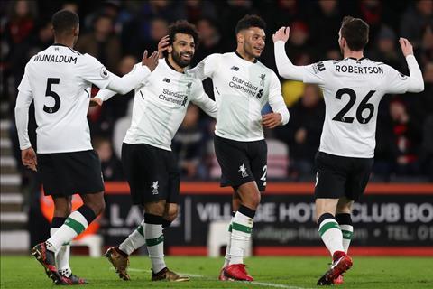 Liverpool thang de Bournemouth