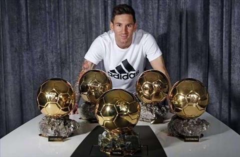 Lionel Messi 'Quả bóng vàng là vinh dự đặc biệt' hình ảnh
