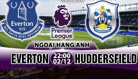 Nhan dinh Everton vs Huddersfield 22h00 ngay 0212 (Premier League 201718) hinh anh