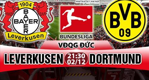 Nhan dinh Leverkusen vs Dortmund 21h30 ngay 212 (Bundesliga 201718) hinh anh
