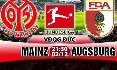 Nhan dinh Mainz vs Augsburg 21h30 ngay 212 (Bundesliga 201718) hinh anh