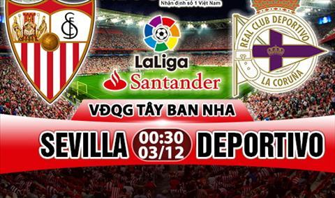 Nhan dinh Sevilla vs Deportivo 0h30 ngay 312 (La Liga 201718) hinh anh
