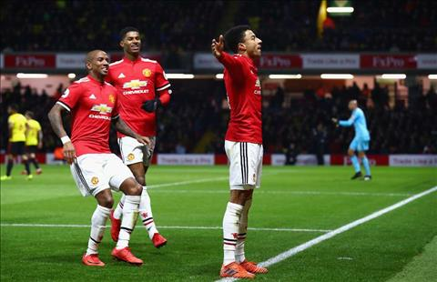 Jesse Lingard muon nhuom do Manchester hinh anh
