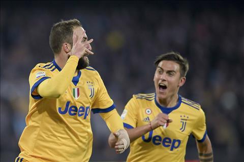 Napoli 0-1 Juventus Sat thu Higuain ra tay tieu diet doi bong cu hinh anh