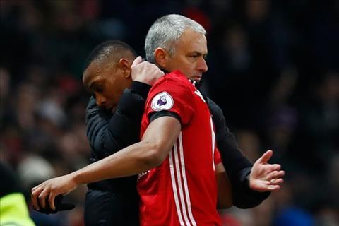 Tai sao Mourinho khong trong dung Martial hinh anh