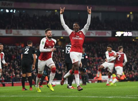 Tong hop Arsenal 1-0 West Ham (Tu ket cup Lien doan Anh 201718) hinh anh