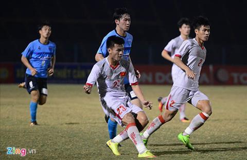 Tong hop U21 Viet Nam 0-2 U21 Yokohama (U21 quoc te 2017) hinh anh