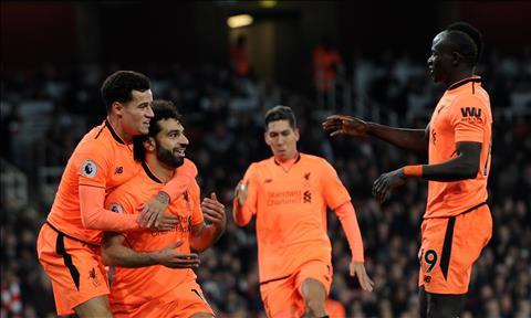 Du am Liverpool 5-0 Swansea Quen Fab Four di, Klopp hinh anh