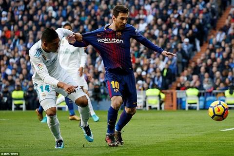 Messi vs Real