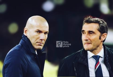 Zidane vs Valverde: Từ chỗ ngưỡng mộ, giờ là đối thủ không đội trời chung
