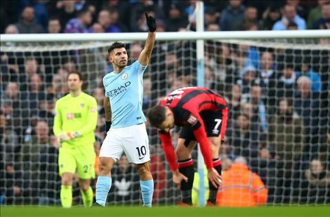 Nhung thong ke dang nho sau tran Man City 4-0 Bournemouth hinh anh 2