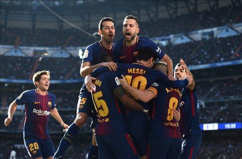 Dai thang El Clasico, nguoi Barca van chua dam mo La Liga hinh anh