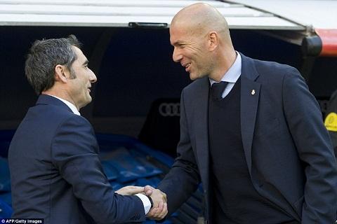 Valverde va Zidane