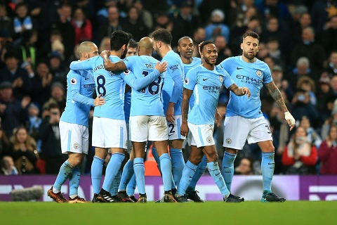 Du am Man City 4-0 Bournemouth Cu ra san la co ky luc hinh anh