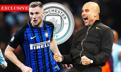 Man City hoi mua trung ve Milan Skriniar hinh anh 2