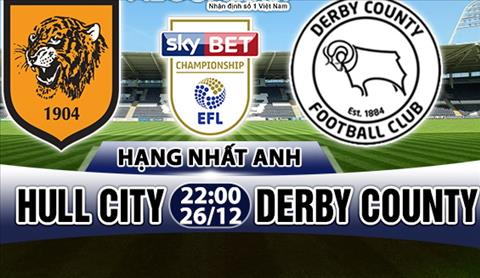 Nhan dinh Hull vs Derby County 22h00 ngay 2612 (Hang Nhat Anh 201718) hinh anh