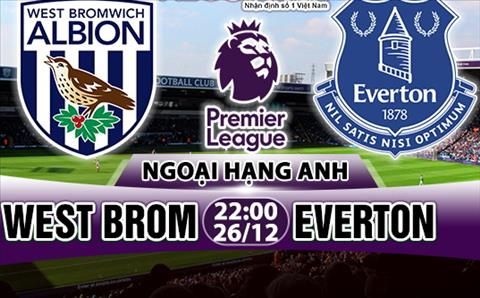 Nhan dinh West Brom vs Everton 22h00 ngay 2612 (Premier League 201718) hinh anh