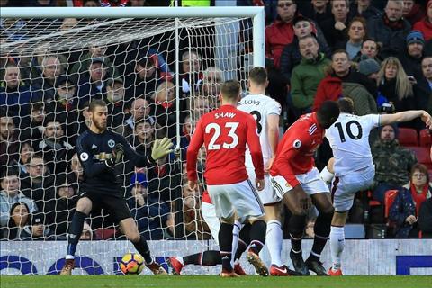 Nhung thong ke dang nho sau tran Man United 2-2 Burnley hinh anh