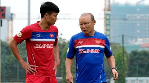 Doi pho U23 Viet Nam quyet gianh suat tham du VCK U23 chau A 2018 hinh anh