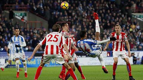 Tong hop Huddersfield 1-1 Stoke (Vong 20 Premier League 201718) hinh anh
