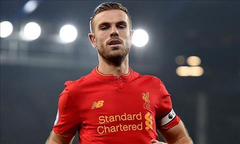 Jordan Henderson noi ve tran Liverpool vs Roma - Ban ket C1 hinh anh