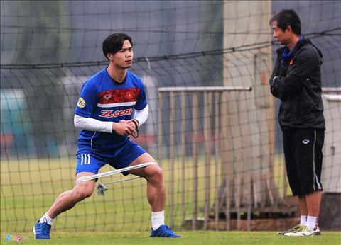 Cong Phuong tap rieng, U23 Viet Nam dong cua bao gioi hinh anh