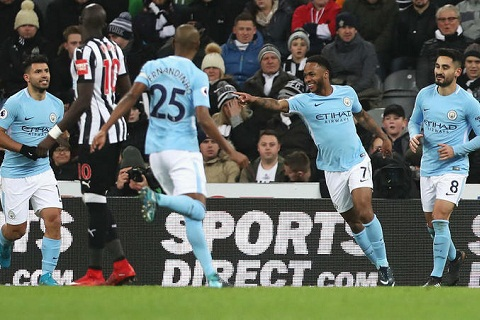 Sterling vs Newcastle
