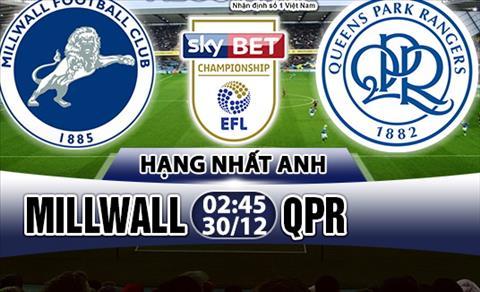Nhan dinh Millwall vs QPR 02h45 ngày 3012 (Hang Nhat Anh 201718) hinh anh