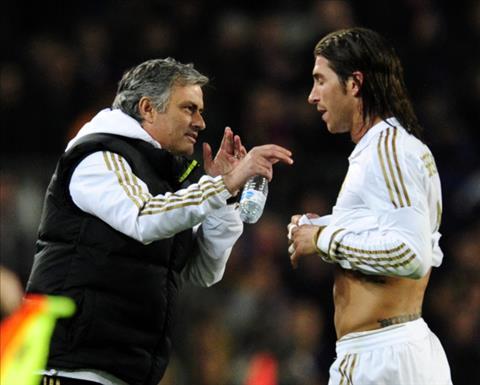 Trung ve Sergio Ramos khong an tuong voi Mourinho hinh anh