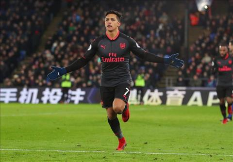 Wenger tuyet doi khong duoc ban Sanchez cho MU hinh anh