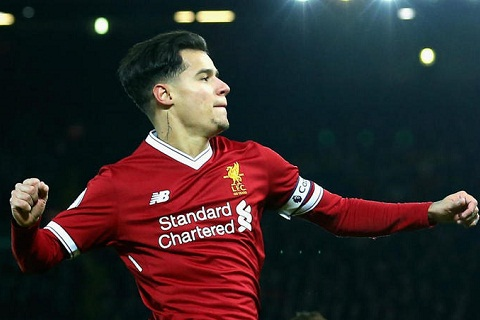 Liverpool mua Van Dijk khong phai de ban Coutinho hinh anh